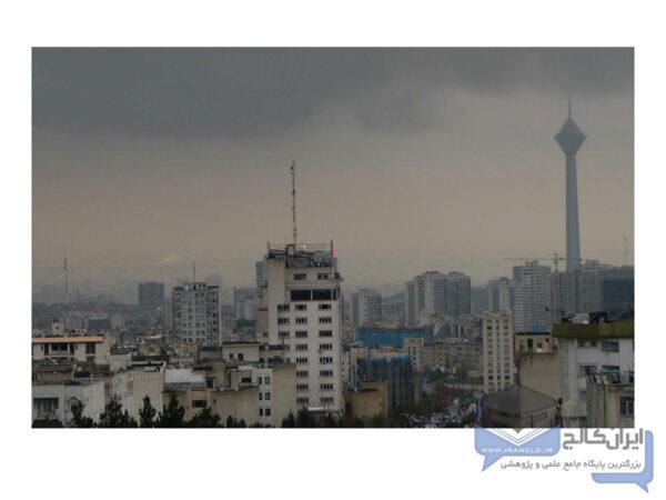 آلاینده های موجود در هوا