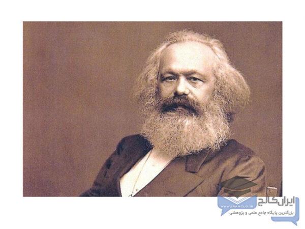 اندیشه های انقلابی مارکس