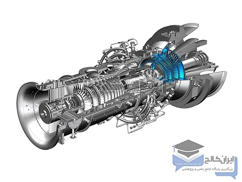 سیستم خنک سازی توربین گازی